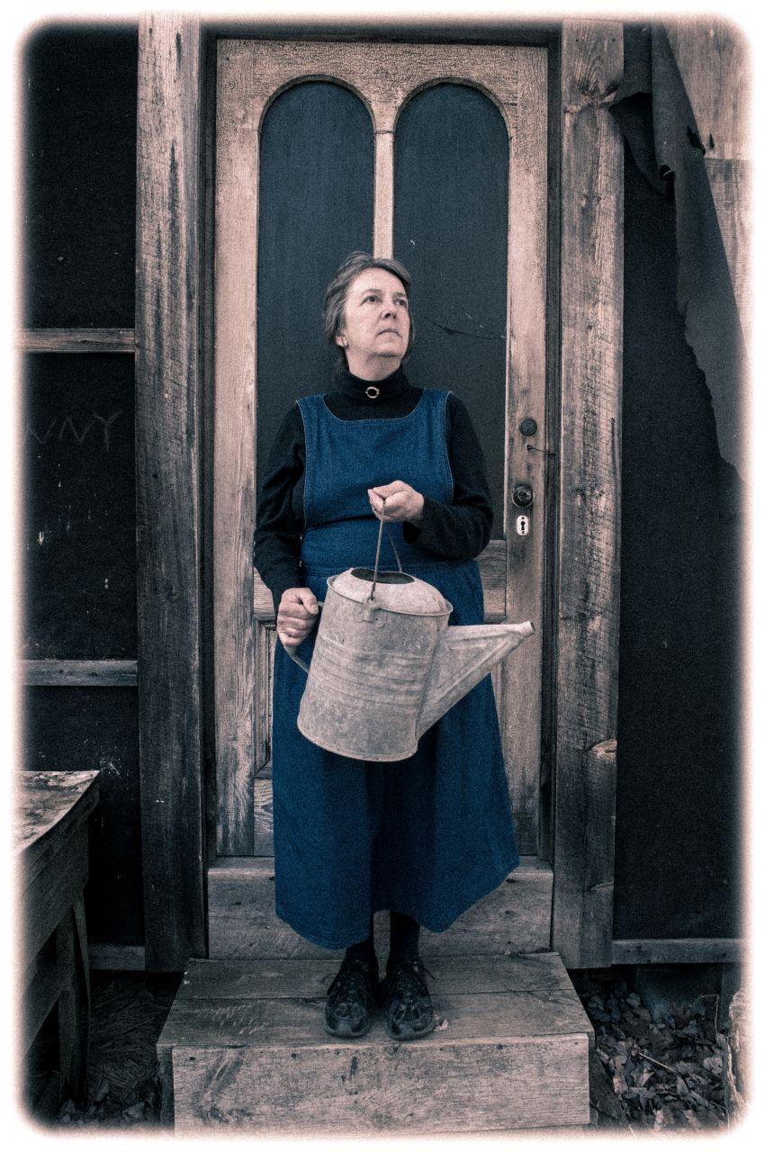 Gothic Lady Farmer