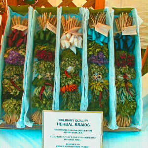 Herbal Braid Display