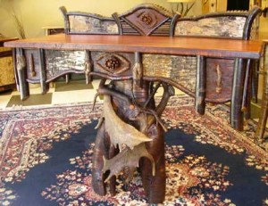 Adirondack Rustic Table